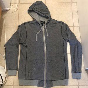 Stüssy Pin Stripe Zip Up Hoody Sweater